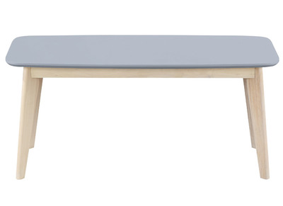 Banc design 100cm gris clair LEENA