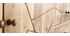 Buffet gravé en manguier massif et métal doré LINIUM