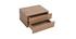 Caisson de rangement 2 tiroirs bois MAX