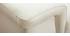 Canapé cuir 3 places blanc avec têtières ajustables ROMEO - cuir de buffle