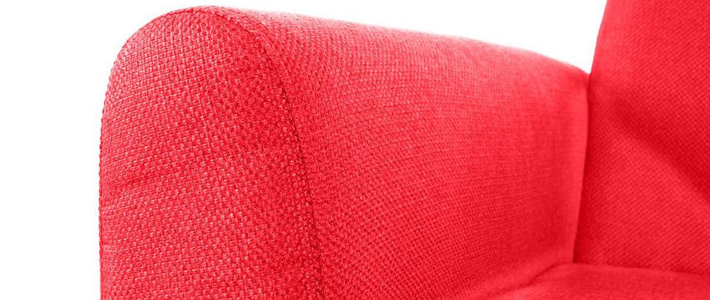 Canapé design 2 places rouge PURE