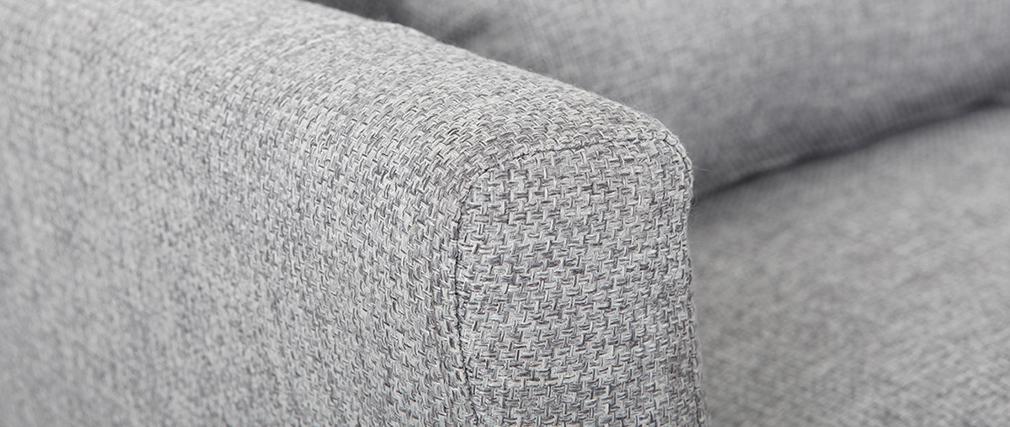 Canapé design 3 places gris clair  VOLUPT