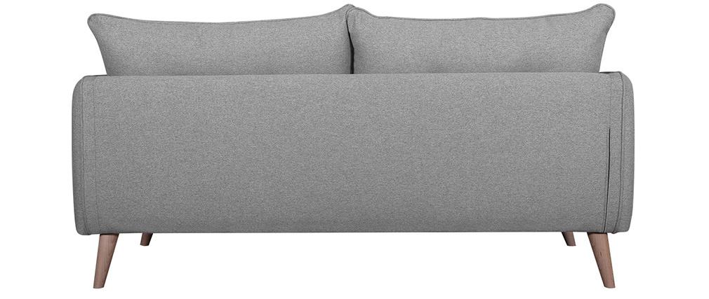 Canapé scandinave 3 places gris clair GUILTY