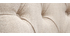 Chaise classique en tissu naturel et bois clair VOLTAIRE