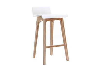 Chaise de bar en bois - 65 cm - Scandinave - BALTIK