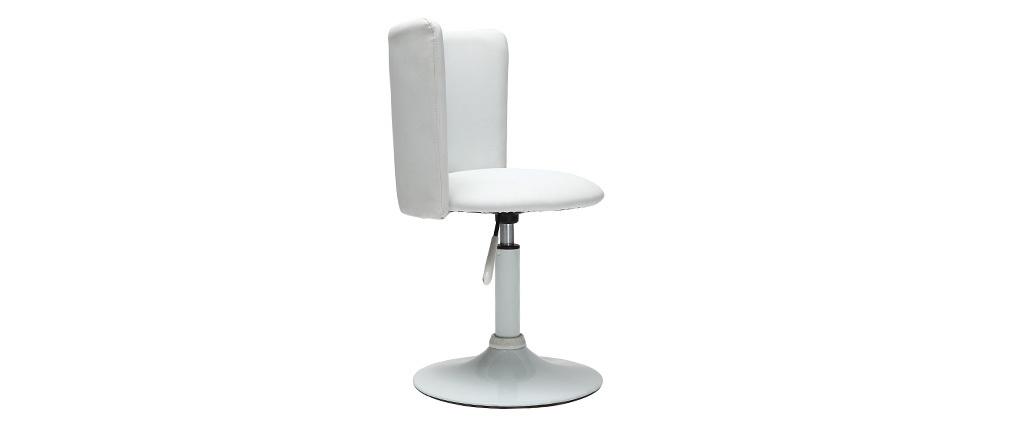 Chaise de bureau enfant blanche NEW ROCK