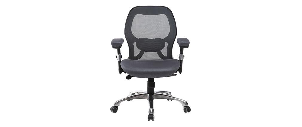 Chaise de bureau ergonomique gris ULTIMATE V2