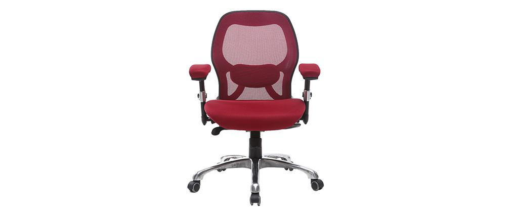 Chaise de bureau ergonomique rouge ULTIMATE V2