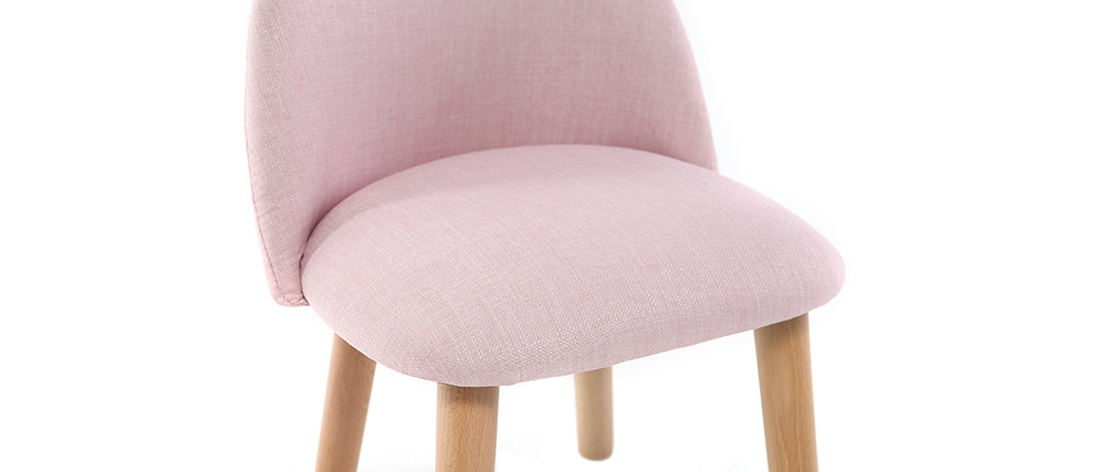 Chaise enfant design rose BABY CELESTE
