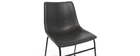 Chaise vintage noir NEW ROCK