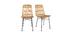 Chaises en rotin (lot de 2) MALACCA