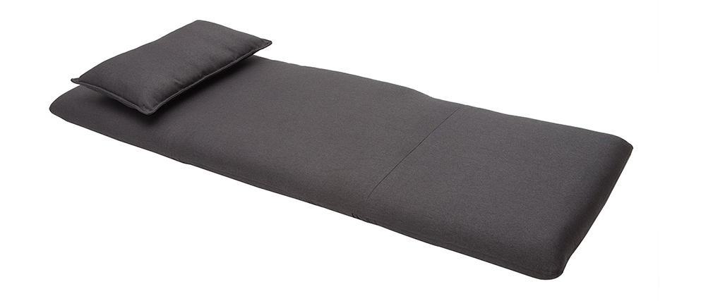Chauffeuse convertible design gris anthracite SLEEPER