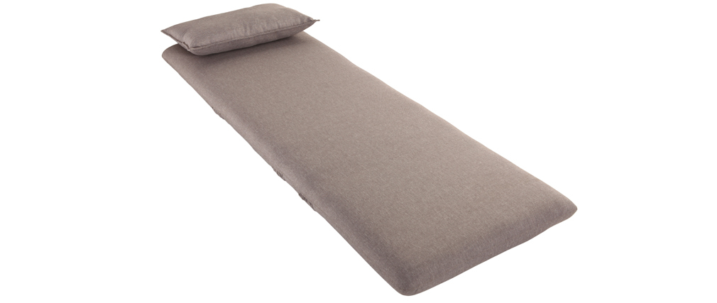 Chauffeuse convertible design taupe SLEEPER