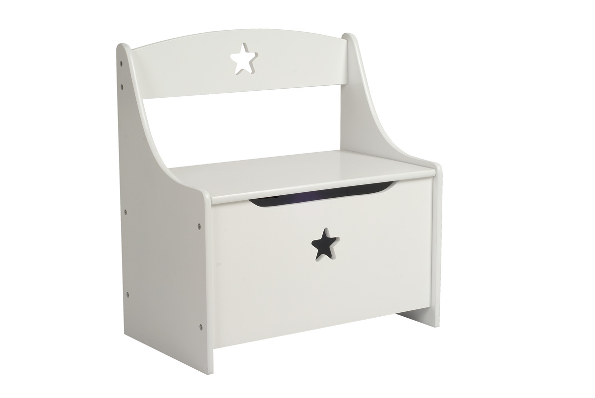 coffre jouets banc enfant etoile miliboo. Black Bedroom Furniture Sets. Home Design Ideas
