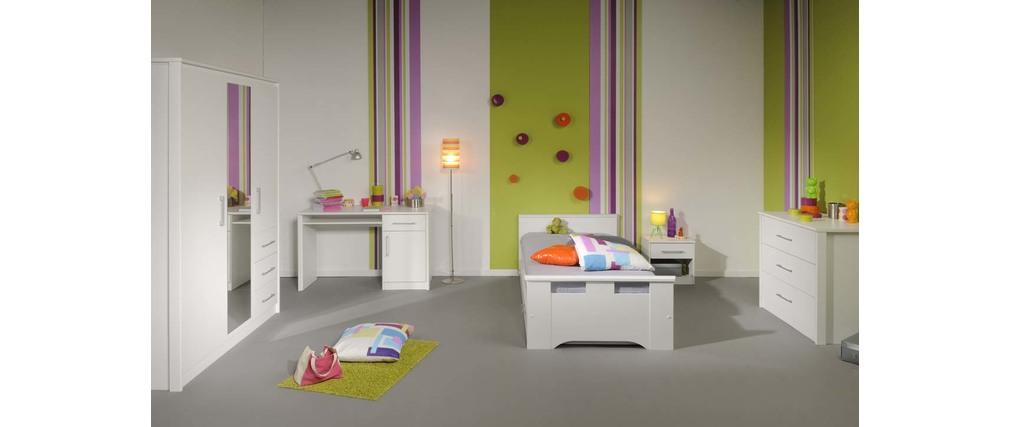 commode design blanche enfant pablo miliboo. Black Bedroom Furniture Sets. Home Design Ideas