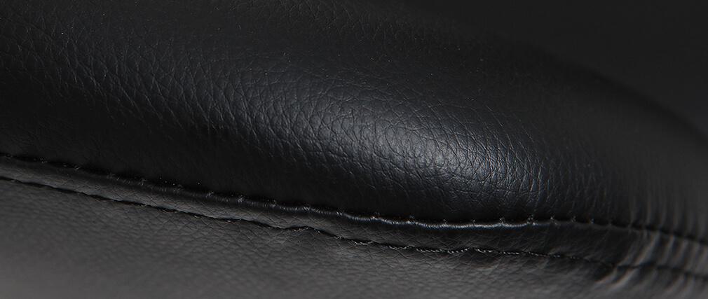 Fauteuil de bureau design noir JESSY