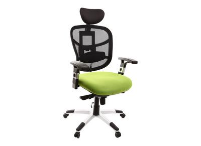 Fauteuil de bureau ergonomique anis et violet UP TO YOU