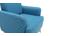 Fauteuil enfant scandinave bleu canard BABY ISKO
