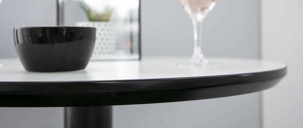 Mange debout rond blanc et noir PENCO