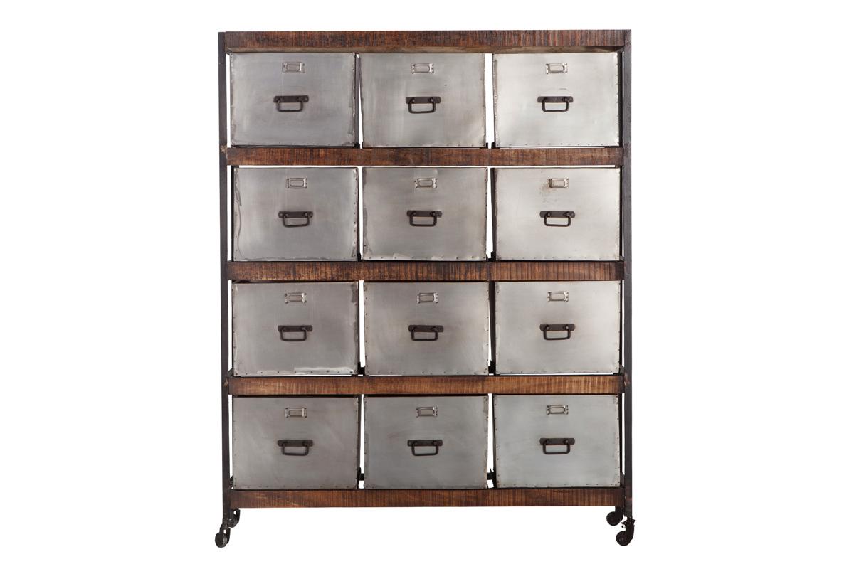 meuble de rangement design 12 tiroirs loft 22862 1 0 0 0 30 Impressionnant Bureau Meuble Design Kse4