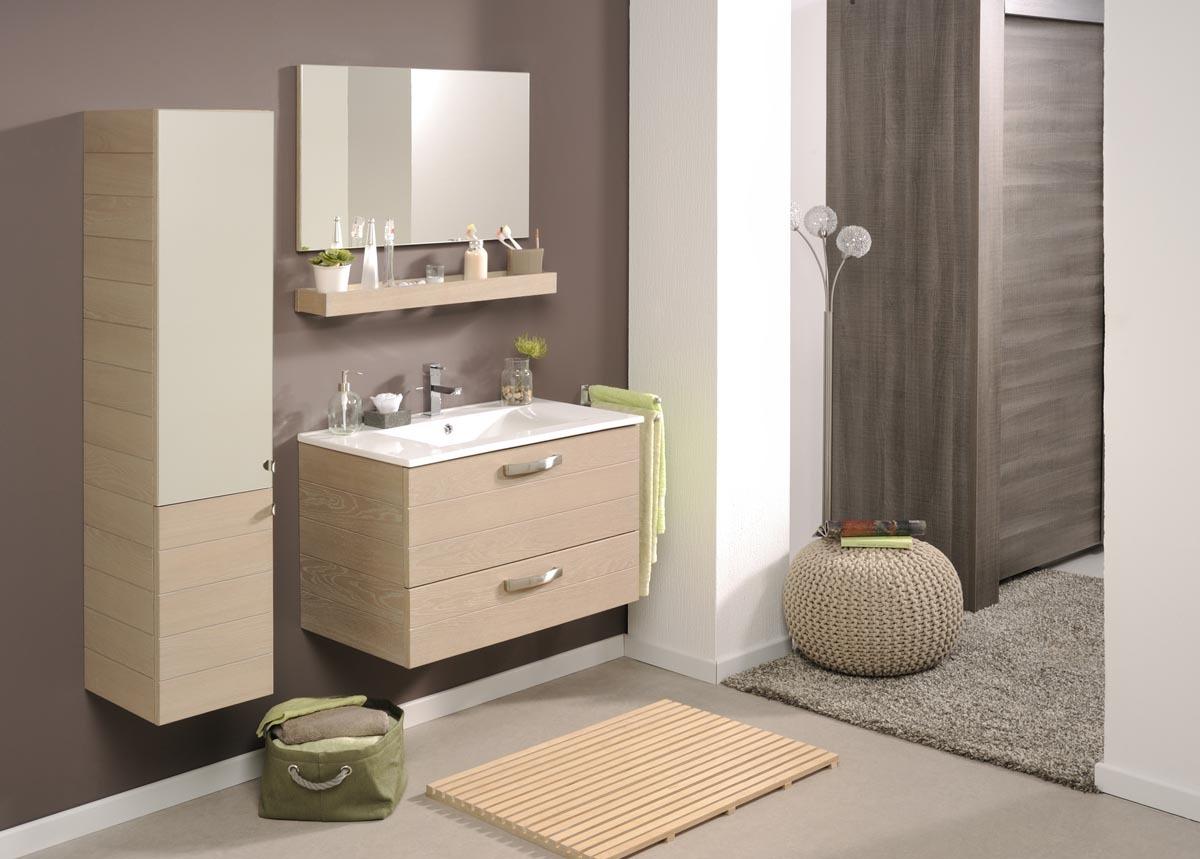 Miroir Salle De Bain Avec Tablette Et Éclairage - Fashion Designs