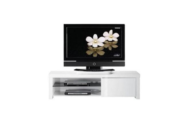 Meuble tv design blanc NEW YORK  Miliboo -> Meuble Tv Design Blanc New York