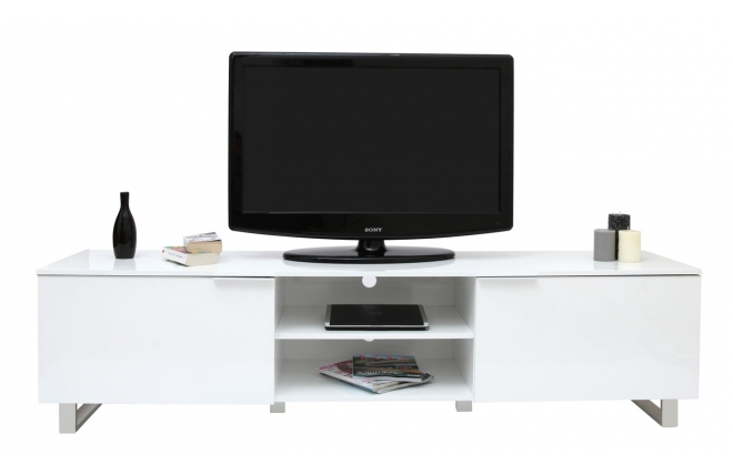 Grand Meuble Tv Design : Meuble Tv Meuble Tv Blanc Laque Led Meuble Tv Blanc Laque Led