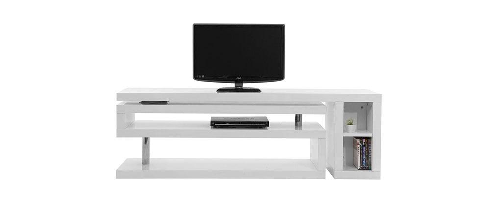 Meuble tv pivotant - Meuble tv design laque ...