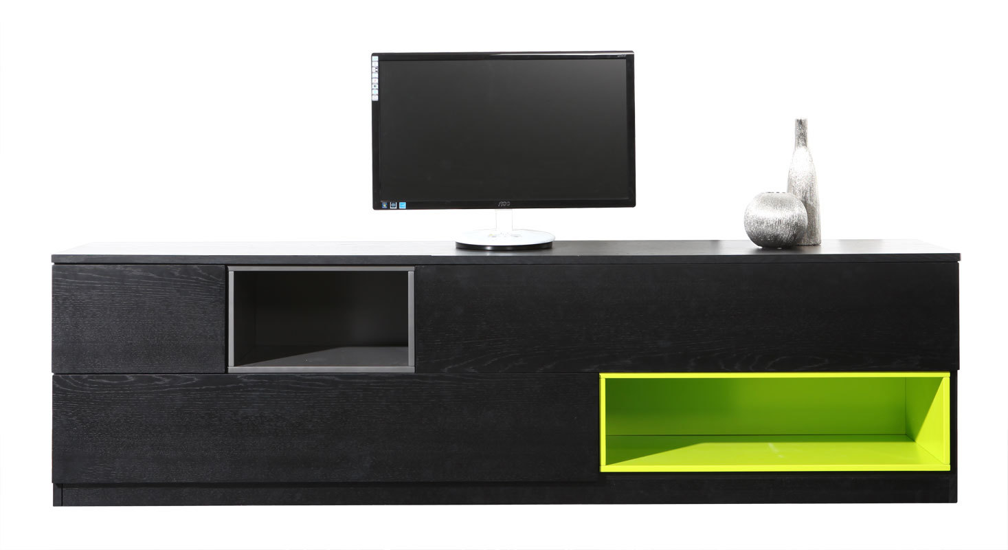 Meuble tv design modulable cubik miliboo for Design meuble tv