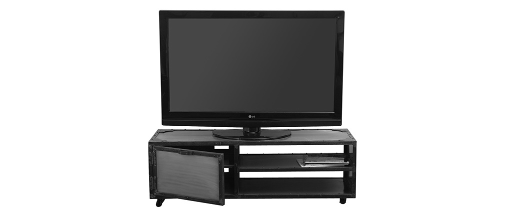 Meuble TV industriel métal FACTORY