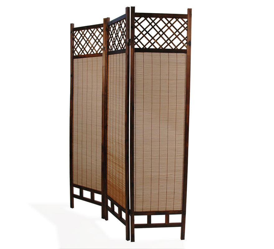 Paravent bambou et sapin NIHA