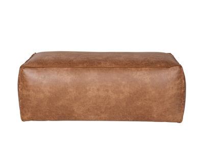Pouf cuir vintage 120cm ASPEN
