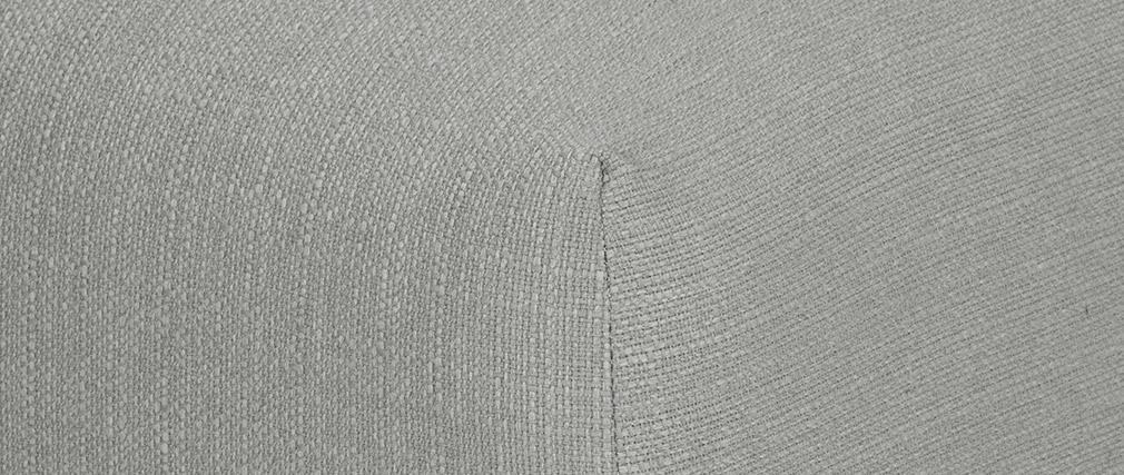 Repose-pieds design tissu gris MODULO