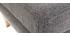 Repose-pieds scandinave déhoussable gris clair OSLO