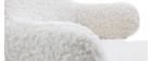 Rocking chair enfant effet peau de mouton SHAUN