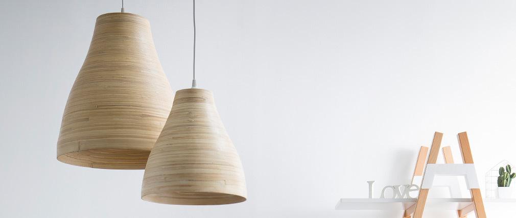 Suspension bohème bambou D40 cm SELVA