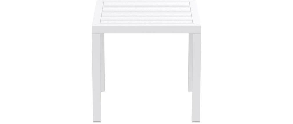 table manger design carr en r sine blanc maryss pictures to pin on pinterest. Black Bedroom Furniture Sets. Home Design Ideas