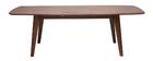 Table à manger design extensible noyer L180-230 cm FIFTIES