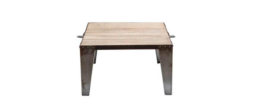 Table basse carrée INDUSTRIA