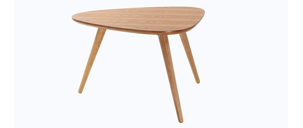 Table basse design frêne ARTIK