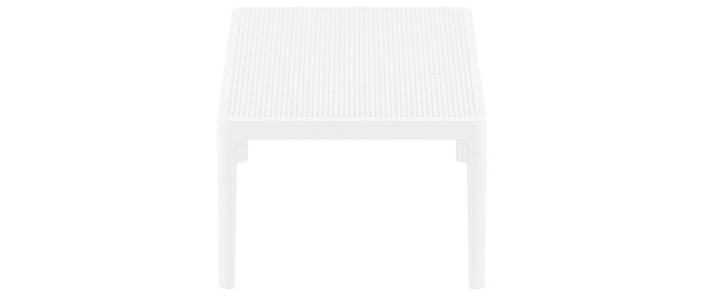 Table basse design intérieur / extérieur blanc OSKOL
