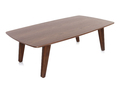 Table basse design noyer FIFTIES