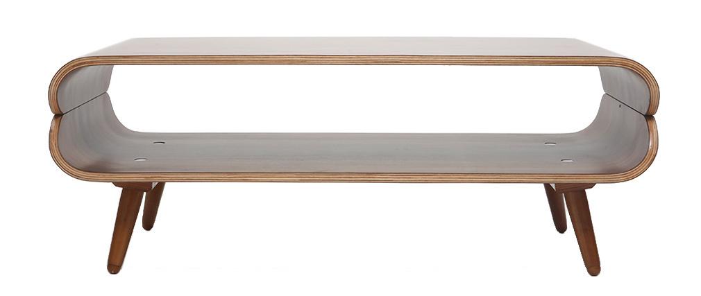Table basse design noyer TAKLA