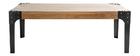 Table basse en manguier massif et métal noir L100 cm MADISON