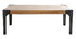 Table basse industrielle métal et bois L120 cm MADISON