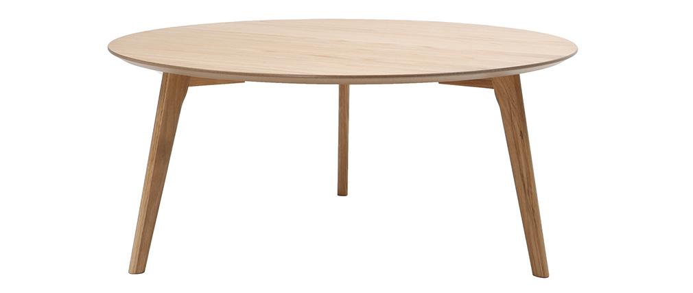 Table basse ronde design ORKAD