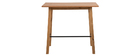 Table de bar design bois HONORE