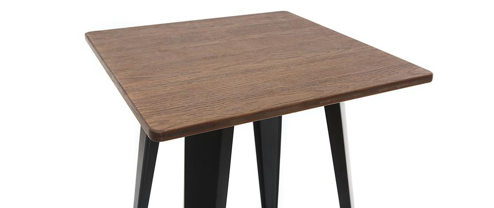 Table de bar métal noir HOCKER