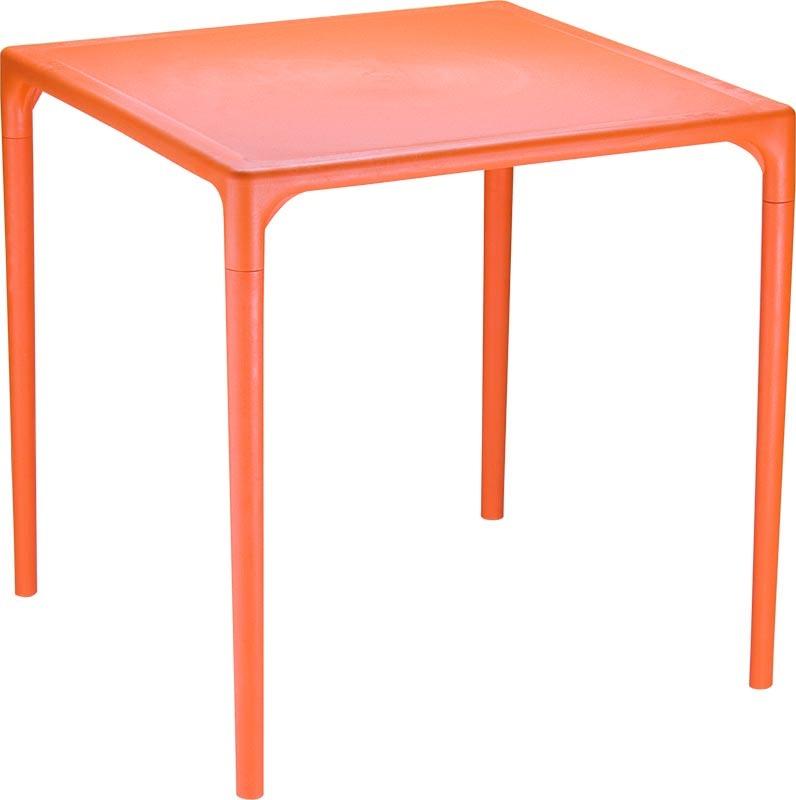 Table de jardin design carree blanc feet des id es int ressantes pour la for Table de jardin design