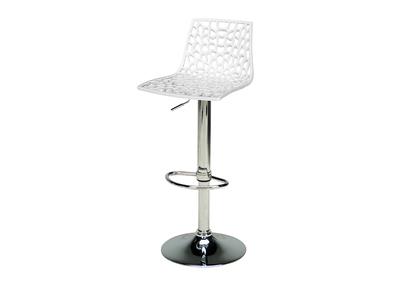 Tabouret de bar design blanc  ATRAX